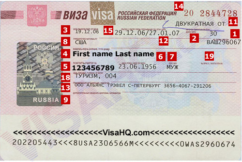 Russian Visa Services Visas To 77